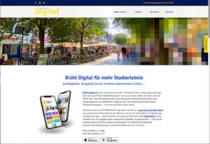 Stadterlebnis – Brühl digital e.V. - Verein und DigitalCoaches für Digitalisierung Stadt Brühl. Stadtmarketing. CityApp